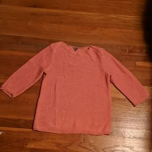 Lovely peach sweater